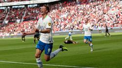 Wout Weghorst erzielte für den VfL Wolfsburg das 2:1