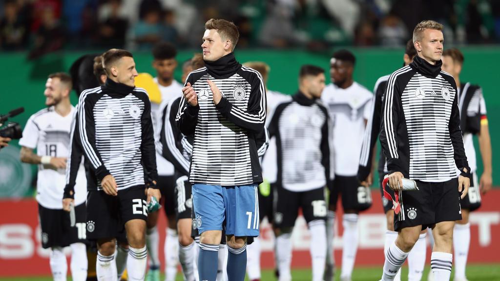 Deutschlands U21 will in Irland einen großen Schritt Richtung EM machen