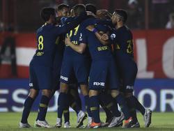 Boca ganó en el Estadio Diego Armando Maradona. (Foto: Getty)