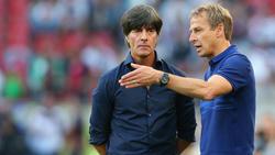 Jürgen Klinsmann hat hohe Erwartungen von seinem Nachfolger Joachim Löw
