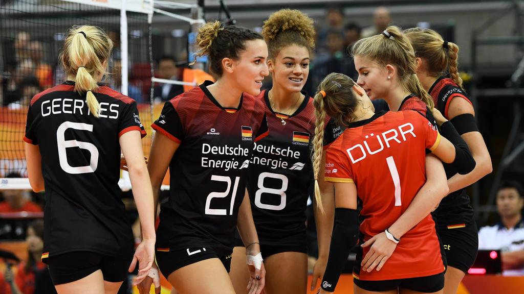 Die Deutschen Volleyballerinnen sind auf die Hilfe von der Türkei angewiesen