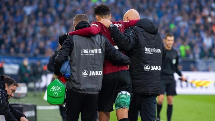 Felipe musste gegen Schalke verletzt ausgewechselt werden
