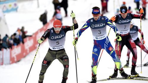 Fabian Rießle (l.) erkämpfte sich Rang drei