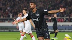 Sébastien Haller fühlt sich bei der Eintracht wohl