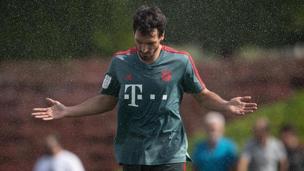 Mats Hummels ist seinen Stammplatz beim FC Bayern los