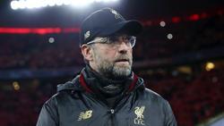 Jürgen Klopp ist am Mittwoch mit dem FC Liverpool beim FC Bayern zu Gast