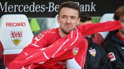 Stuttgarts Christian Gentner hat sich im Spiel gegen Frankfurt verletzt