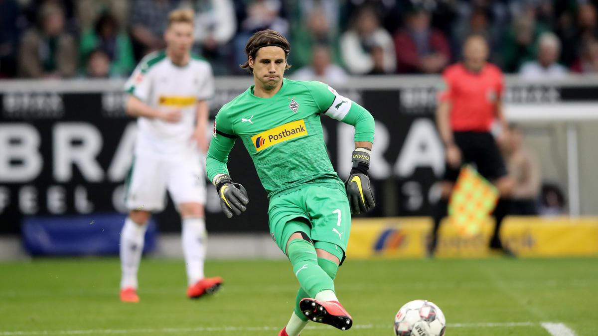 Gladbach Fc Barcelona Will Yann Sommer Als Ersatzkeeper