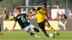 BVB-Talent Youssoufa Moukoko glänzte gegen den VfL Wolfsburg