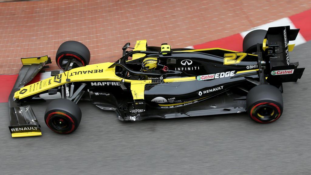Nico Hülkenberg hat in Monaco wieder richtig Dampf