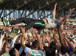 Thomas Doll hat den ungarischen Pokal gewonnen