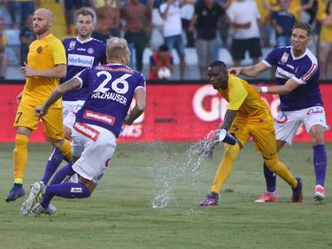 In Zypern ging es beim Austria-Aufstieg gegen AEL heiß her