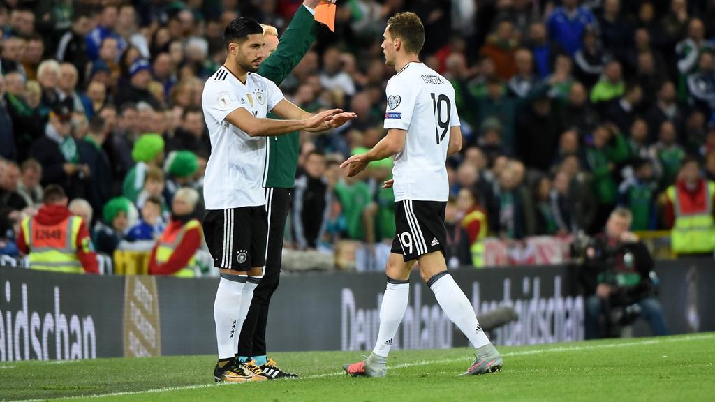 Emre Can und Leon Goretzka standen im Fokus von Manchester United