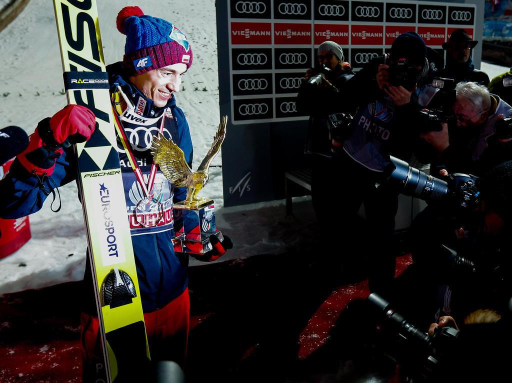 Skispringer Kamil Stoch ist Polens Sportler des Jahres