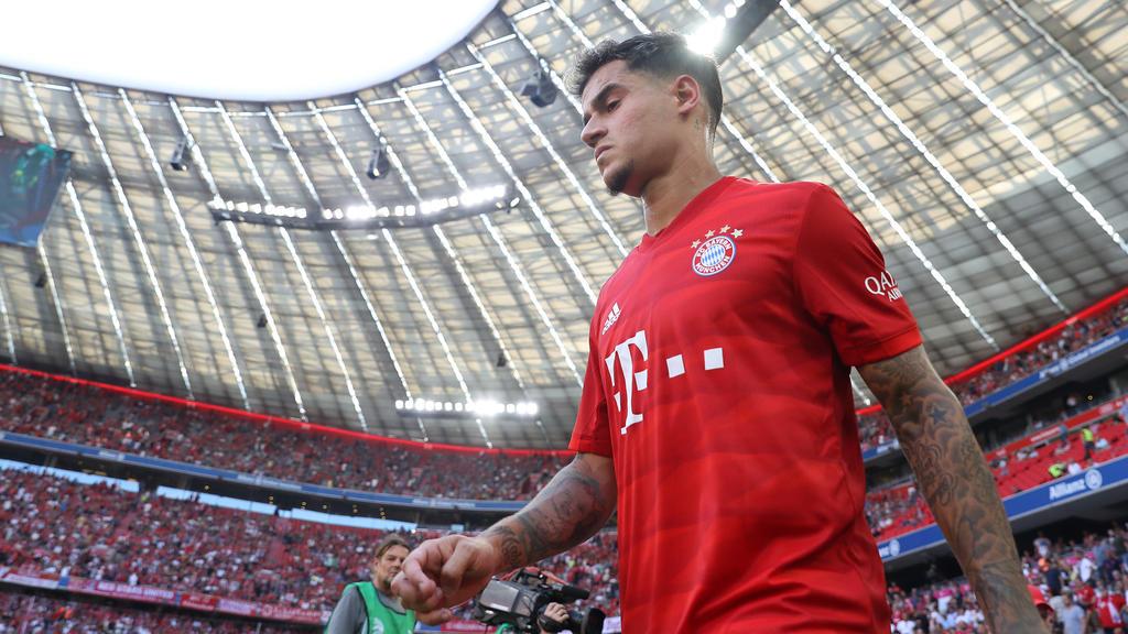 Philippe Coutinho ist zunächst für ein Jahr an den FC Bayern ausgeliehen