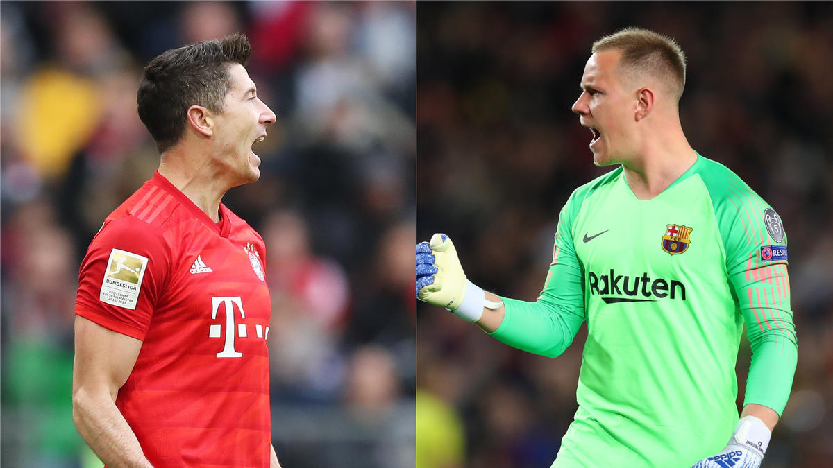 FC Bayern: Lewandowski stürmt Europas Top-Elf des Monats