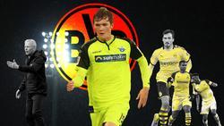 Luca Kilian (M.) verließ den BVB im Sommer Richtung SC Paderborn