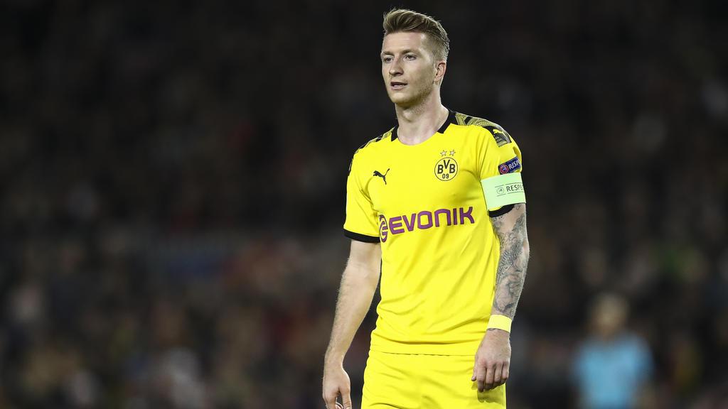 Marco Reus muss mit dem BVB gegen Paris Saint-Germain ran