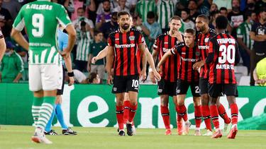 Bayer Leverkusen wendete die Niederlage bei Betis Sevilla noch ab