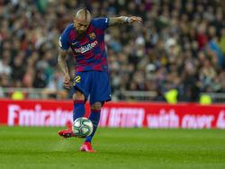 Vidal no es titular indiscutible con Setién.
