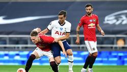Kein Sieger im Duell zwischen Manchester United und Tottenham