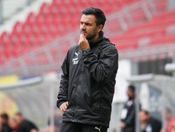 FAC-Trainer Aleksandar Gitsov gastiert mit seiner Mannschaft in Ried