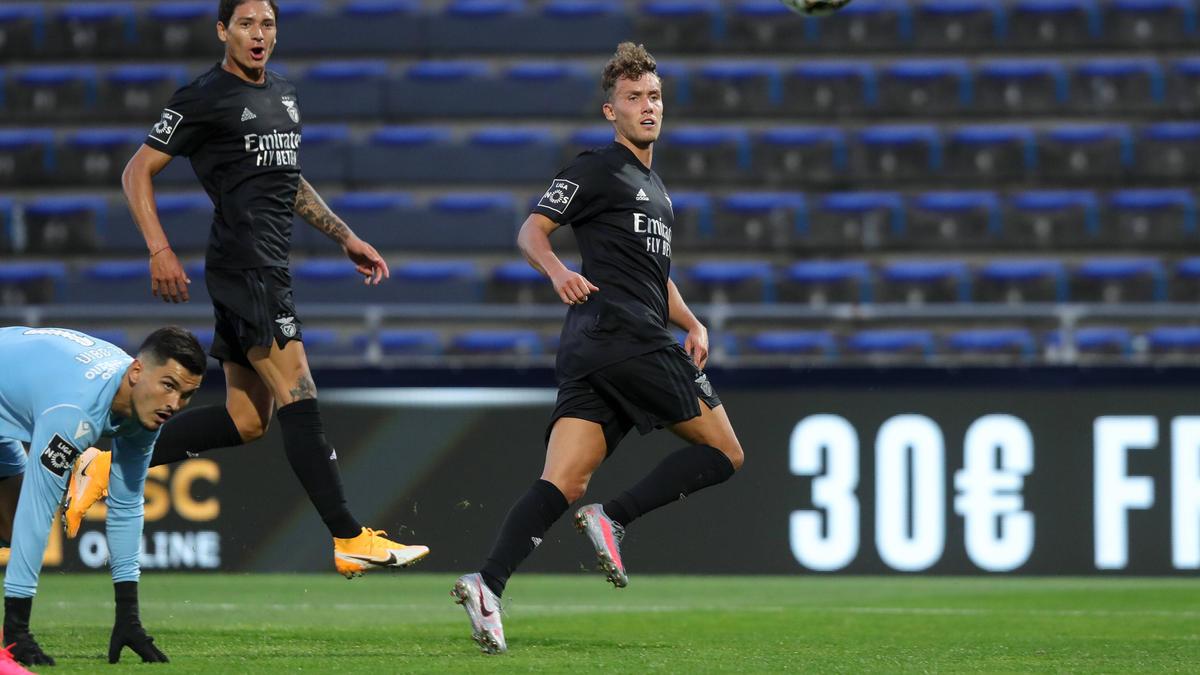 Luca Waldschmidt erzielte einen Doppelpack für Benfica