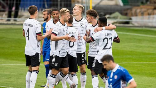 Verdienter Erfolg für die DFB-Junioren