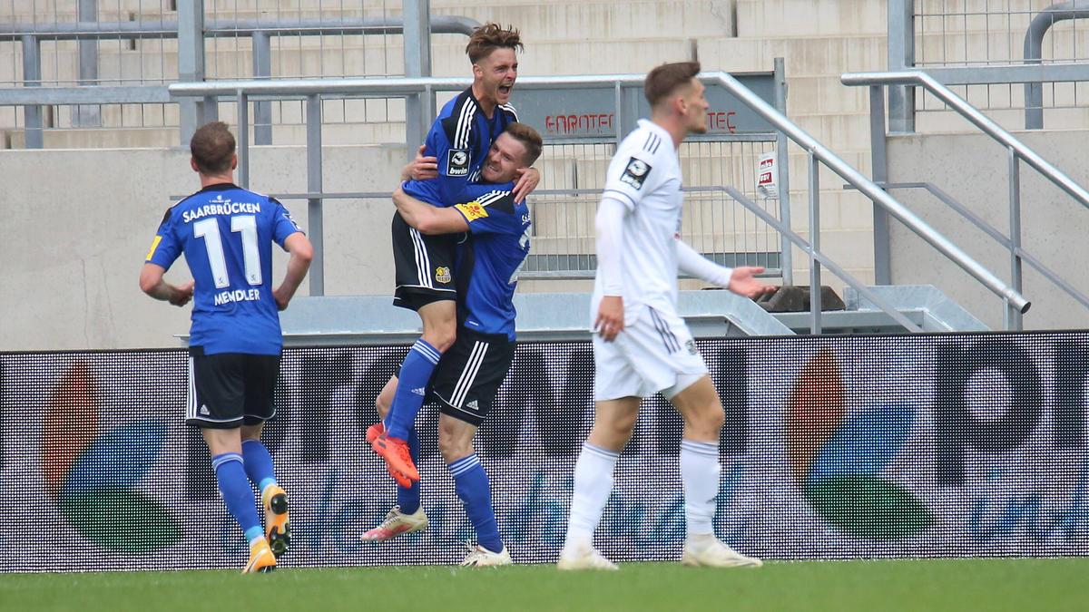 Die SpVgg Unterhaching unterlag dem FC Saarbrücken