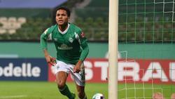 Bestritt bereits zwei Länderspiele für die deutsche U21: Felix Agu von Werder Bremen