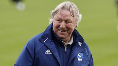 Horst Hrubesch hat beim HSV auf Zeit übernommen