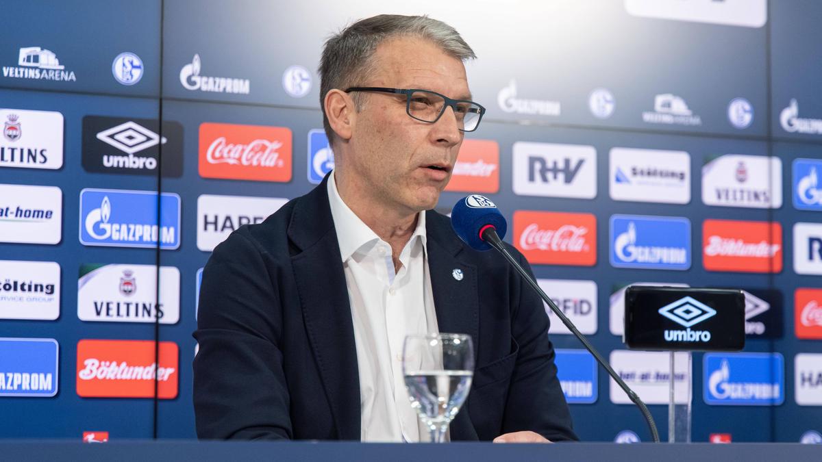 Peter Knäbel ist Sport- und Kommunikationsvorstand beim FC Schalke