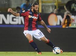 Davide Moscardelli geht für Bologna auf Torejagd