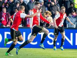 Große Freude bei Feyenoord Rotterdam