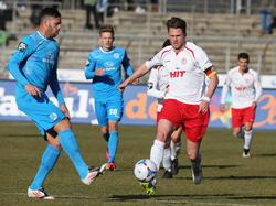 Daniel Flottmann (r.) fehlt Fortuna Köln einige Wochen