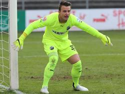 Manuel Riemann hütet ab 2015/2016 den Kasten des VfL Bochum