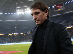 HSV-Trainer Bruno Labbadia möchte in Ruhe mit dem Team arbeiten können