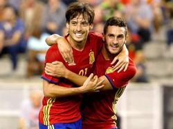 Spanien bejubelte einen klaren Heimsieg gegen Israel