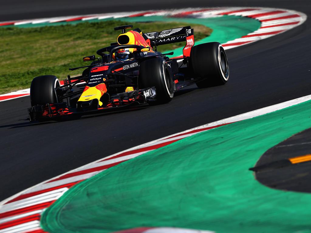 Daniel Ricciardo zeigte sich toll in Form am Mittwoch