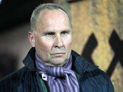 Aue-Boss Helge Leonhardt kann nicht zufrieden sein
