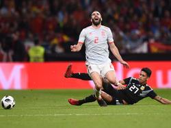 Die Spanier bangen um den Einsatz von Dani Carvajal