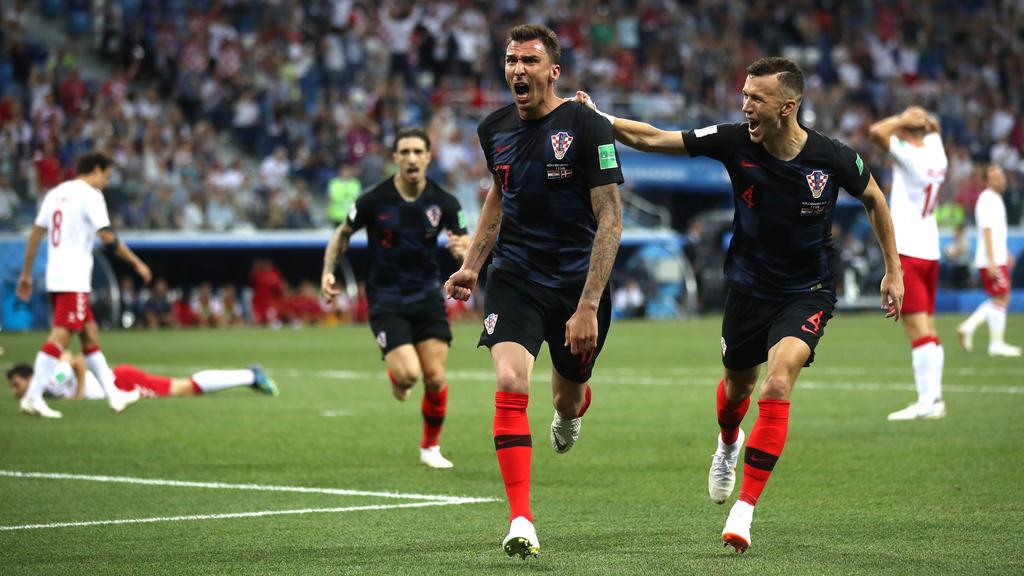 Der Ausgleich: Mario Mandžukić bringt Kroatien zurück ins Spiel