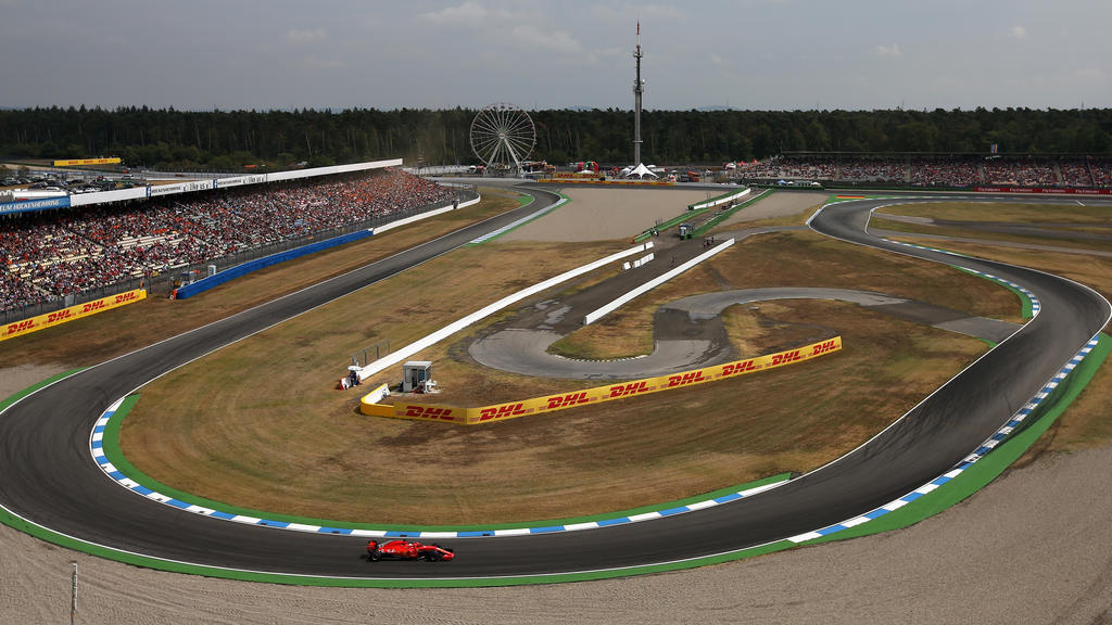 Hockenheimring wird auch Sebastian Vettel alles abverlangen