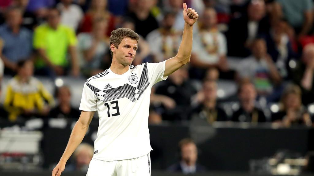 Weg zur Rehabilitierung: Thomas Müller wollte den Fans der DFB-Elf einiges beweisen