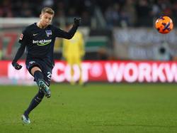 Mitchell Weiser hat nach seiner Verletzungspause das Training bei Hertha BSC wieder aufgenommen