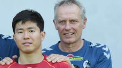 Freiburgs Trainer Christian Streich muss zum Saisonauftakt auf Changhoon Kwon verzichten