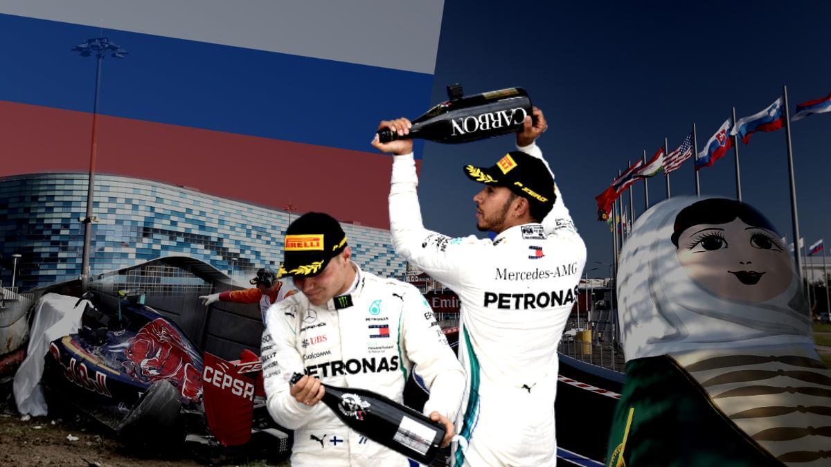 Ergebnis Formel 1 Russland