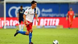 Christoph Moritz fehlt dem HSV aktuell nach einem Bruch des Schlüsselbeins