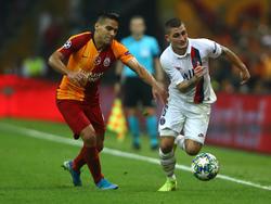 Verratti en la última visita del PSG a Estambul en Champions.