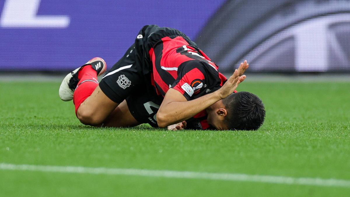 Leverkusen muss wohl vier Wochen auf Palacios verzichten